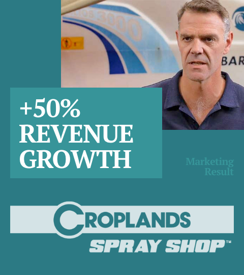 Case Study - Croplands Spray Shop