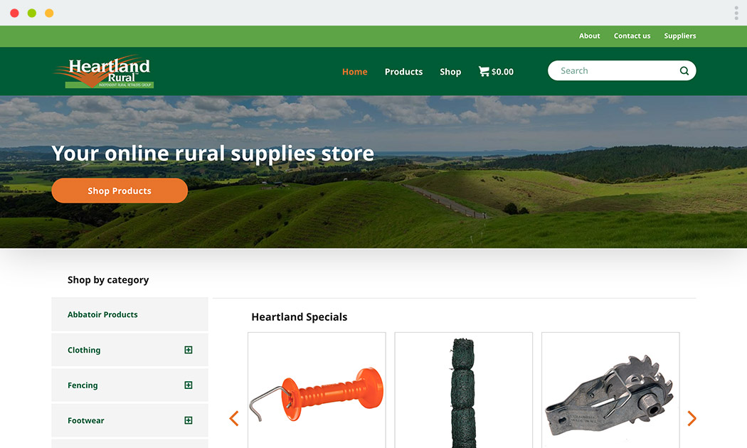 Heartland Rural Website