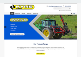Kyne Equipment Website