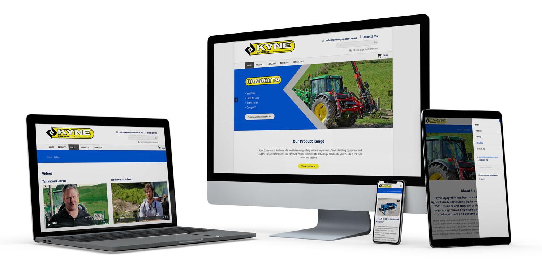 Kyne Equipment Website