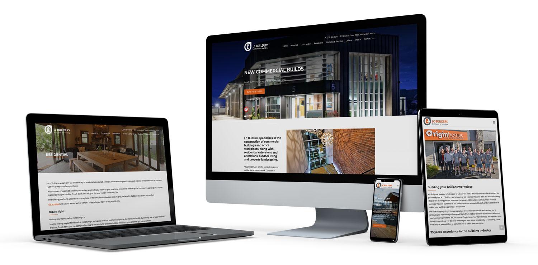 LC Builders Website