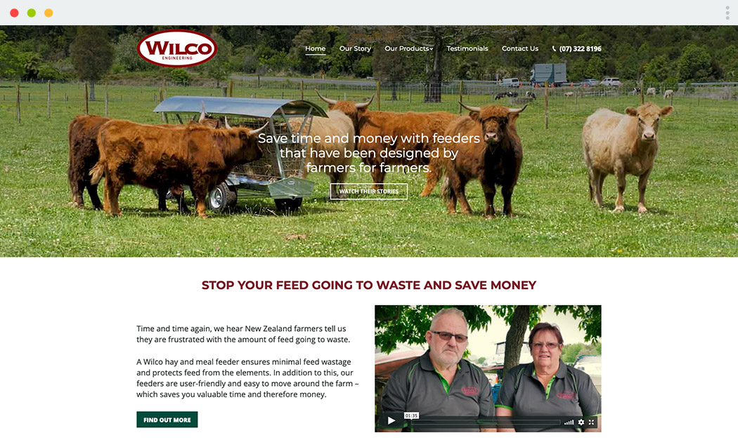 Wilco Engineering Website